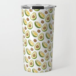 Avocados' Fun! Cute Humorous Artwork and Pattern Travel Mug