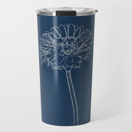Gerbera Blueprint Travel Mug