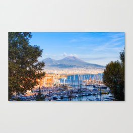 Naples, Italy Canvas Print