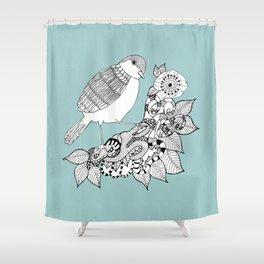 Bird II Shower Curtain