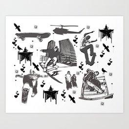 Skater-Life Art Print