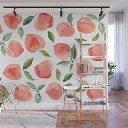 peaches Wall Mural