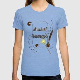Mischief Managed Harry Potter Marauder's Map  T-shirt