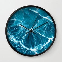 Wavy Water Wall Clock