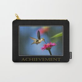 Inspirational Achievement Carry-All Pouch