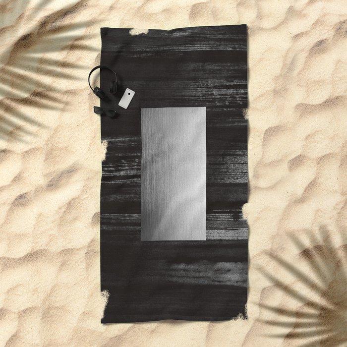 silver Beach Towel