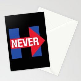 NEVER HILLARY Stationery Cards