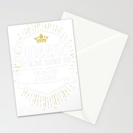 Queens-are-born-in-July-1 Stationery Cards