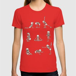 Skeleton Yoga T-shirt