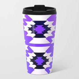Ultraviolet geometry Travel Mug