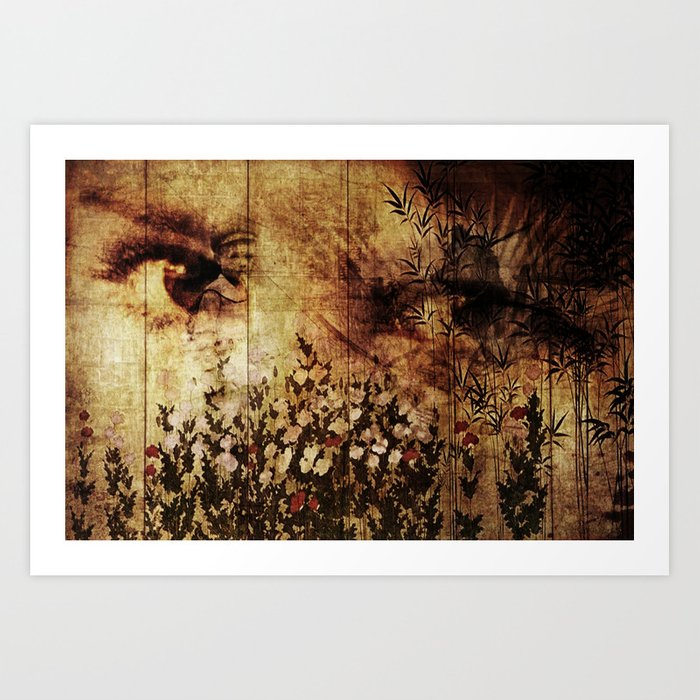 In Your Mothers Eyes Art Print