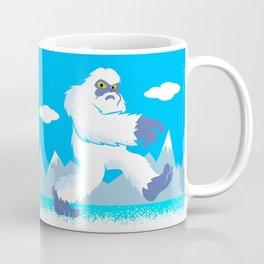 Cartoon yeti Coffee Mug