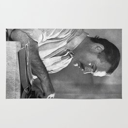 Ernest Hemingway Rug