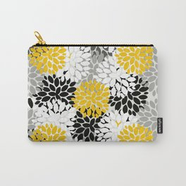 Abstract floral art and pattern  Carry-All Pouch