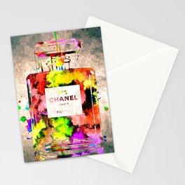 No 5 Grunge Stationery Cards