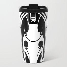 Cyberman Head Travel Mug
