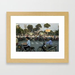 Ho Chi Minh City, 2007 Framed Art Print