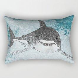 Sharky Rectangular Pillow