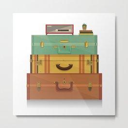 staycation Metal Print