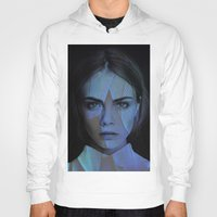 cara delevingne Hoodies featuring Cara Delevingne  by TRUANGLES