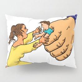 illegal immigrant child detention Pillow Sham