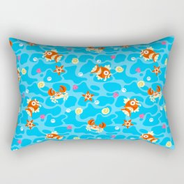 Bubble Beach Rectangular Pillow