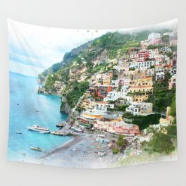 Picture perfect Positano Wall Tapestry