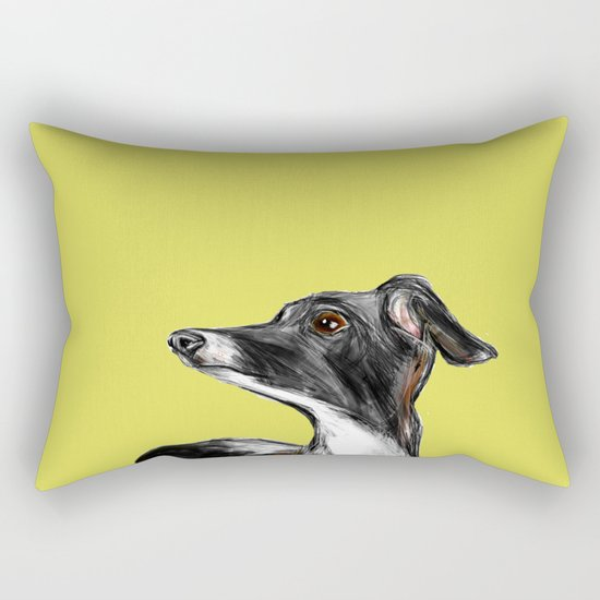 Greyhound Rectangular Pillow