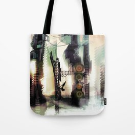 City Lost Tote Bag