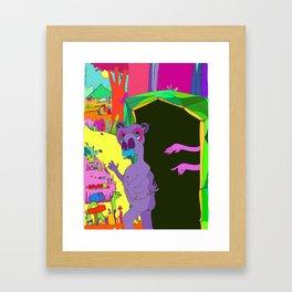 Fresh new start Framed Art Print