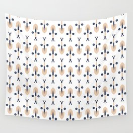 Construction (Patterns Please Series #4) Wall Tapestry