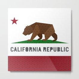 California Parkay Metal Print