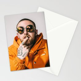 Mac Miller Poster Rapper Hip Hop Art Music Singer Hip Hop Rap Print Music Band Star Wall Art Painting Room Home Decor Canvas Painting Stationery Cards