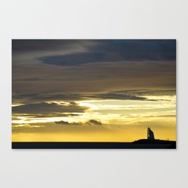 Sea sunset landscape Canvas Print