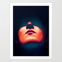 Glass Eyes Art Print