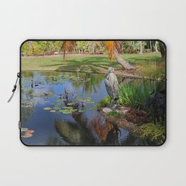 At the Pond Laptop Sleeve
