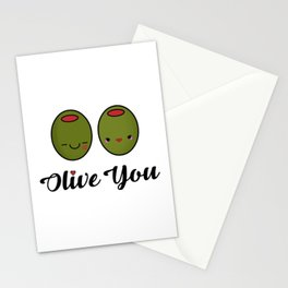 Olive You! Stationery Cards