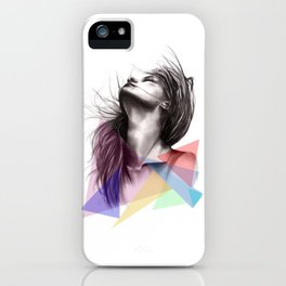 Crystalised // Fashion Illustration  iPhone Case