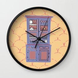 "Le ""credenze"" della mamma by Laura Pizzicalaluna Wall Clock"
