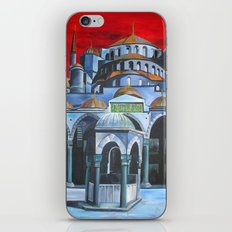 Sultan Ahmed Mosque, Istanbul  iPhone & iPod Skin