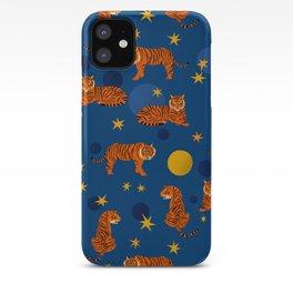 Cosmic Tigers iPhone Case