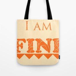 I Am Infinite Tote Bag