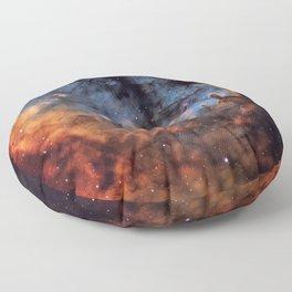 The Devil Nebula Floor Pillow
