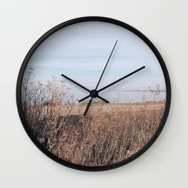 BLUE MOON III / Alviso, California Wall Clock