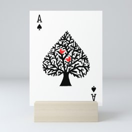 Ace of spade Mini Art Print