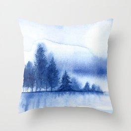 Winter scenery #11 Throw Pillow