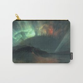 Aurora Borealis by Frederic Edwin Church Carry-All Pouch