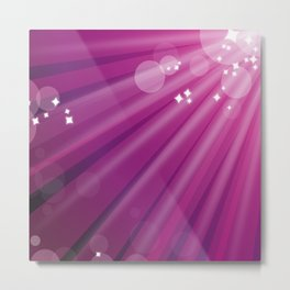 pink background Metal Print