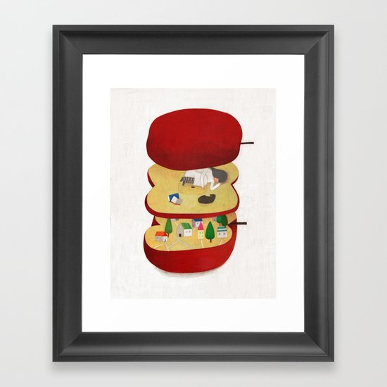 Ringo Framed Art Print