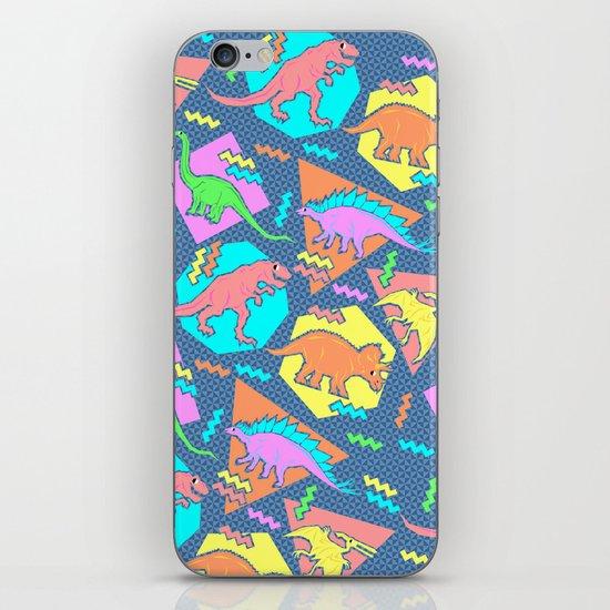Nineties Dinosaur Pattern iPhone & iPod Skin